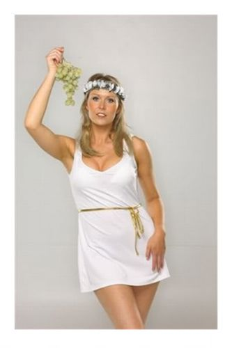 Greek Goddess - Sexy Fancy Dress Costume (X2X)